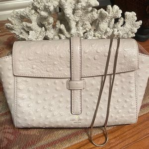 Preowned Kate Spade Offwhite Leather Bag